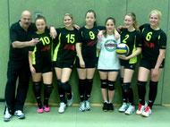 Das Team für Wolfsburg, Mai 2014: v. lks. Jacky, Toni, Aliena, Verena, Sassi und Lea.