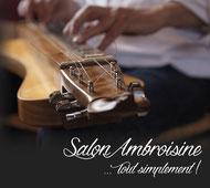 cd Tout simplement Salon Ambroisine musiques pour épinette chromatique répertoire de Wallonie