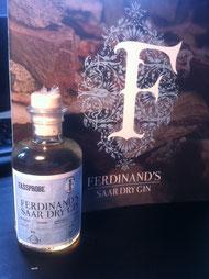 Fassprobe FERDINAND'S SAAR DRY GIN