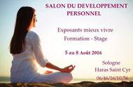 Salon du Développement Personnel à La Ferté Saint Cyr  - Agenda du Bien-être Touraine et Val de Loire  Via Energetica
