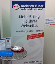 Die Jimdo Experts von mehrWEB.net beraten auf der B2B NORD zur eigenen Webseite mit dem CMS von Jimdo