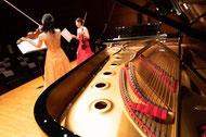 ピアノとヴァイオリン