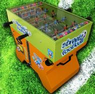 Kiddy-Fussball-Automat mit Münzeinwurf