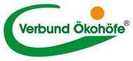 Logo - Verbund Ökohöfe e.V. ist ein regionaler Anbauverband, der ökologische Landwirtschaft zertifiziert. Unsere Öko-Imkerei und der gesamte Hof haben eine Zertifizierung nach den Richtlinien, die über EU-Bio hinaus gehen..