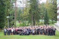 Gruppenbild der europäischen Waldpädagog*innen