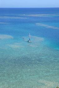沖縄のラグーン
