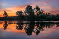 Sonnenaufgang am Sulzbacher Mainufer, Foto: Siegfried Rath