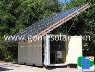 conteneur-container-contenedor-solaire-solar-photovoltaïque-photovoltaic-fotovoltáico-photovoltaik-PV-hybrid PV/T-híbrido PV/T-hybridenergie PV/T-générateur autonome-autonomous generator-autonomen generator-generador autónomo-gesc-#gesc