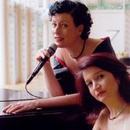 Das Duo Tirzah Haase und Armine Ghuloyan