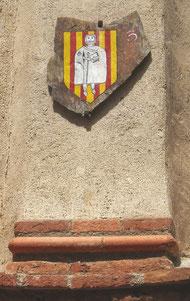 D'or avec quatre pals de geule (Aragon)