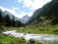 Photo randonnée lac d'Estom Hautes Pyrénées