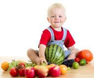 Niño 3 años dietista