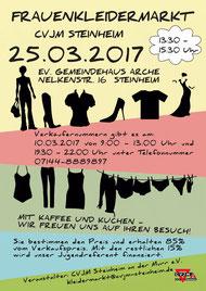 Frauenkleidermarkt-Flyer (vergrößerbar)