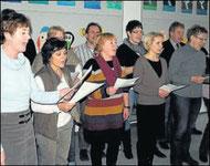 Ein Lied für Gnoth: Die Kollegen sangen für die neue Schulleiterin.