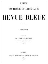 Ed. Chavannes : Du rôle social de la littérature chinoise. Leçon d'ouverture faite au Collège de France, le 5 décembre 1893. La Revue politique et littéraire, tome 52, 1893