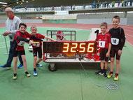 Die U12 Staffel siegte mit Elia Euteneuer, Daniel Hehn, Julius Hehn und Simon Renk