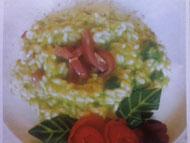 Risotto di zucchine e bresaola ricetta light