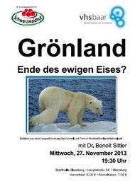 Grönland Vortrag