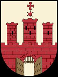 Histor. Stadtwappen Kluczborko