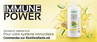 boisson aloe vera Immune Plus de LR pour votre immunité avec de l'aloe vera et des plantes - Aloe vera sante et beaute - LR Health and Beauty IASC & Fresenius