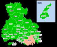 ポスティング兵庫(近畿関西)配布部数表