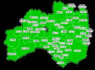 ポスティング福島(東北)配布部数表