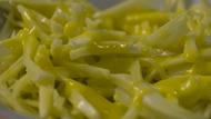 Spaghetti con finocchi all'arancia light