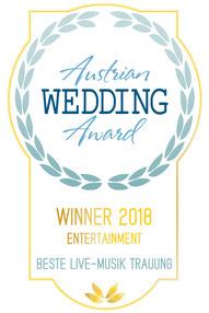 Helga Bauer Gospel 4 Wedding Finalist beim Austrian Wedding Award 2017