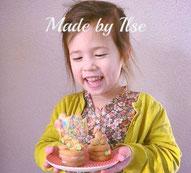 versierde bloemkoekjes, 3D koekjes