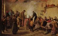 Albert Anker: die Armensuppe