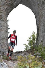 Course pédestre dans le sud Aveyron