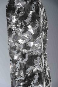 acier inox métal décoration sculpture art artisan charente cognac