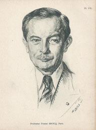 Pierre Brocq  professeur médecine 1950