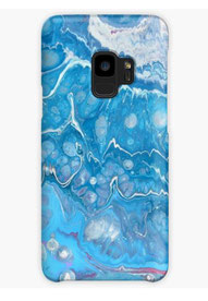 coque-galaxy-Iphone-bleu-violet-original-paint-royan-decoration-unique