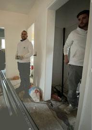 Haustechnik Team Christopher und Stefan