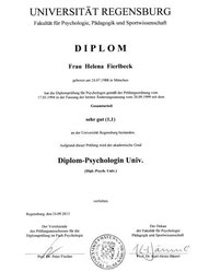Diplom Psychologin Helena Fierlbeck Team