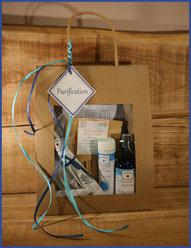 sacs cadeaux Purification