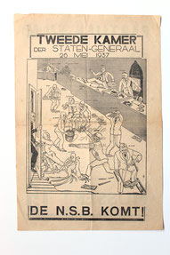 Affiche : NSB Tweede Kamerverkiezingen 26 mei 1937 1.1