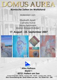 Ausstellung DOMUS AUREA