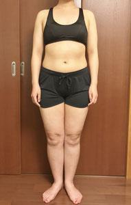 DNAパーソナル痩身コース体験前