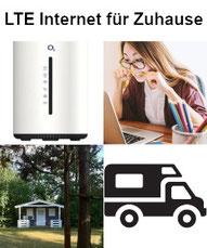 LTE Internet für Zuhause - DSL Ersatz nicht nur für Camper und Wochenendhäuser