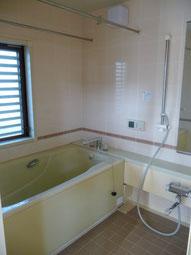 3Fお風呂とシャワーがあります