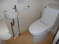 1Fトイレです。ウォシュレット付きです