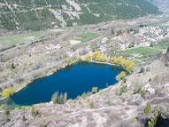 Lac de la Roche de Rame.