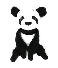Kuscheltier Panda Bär für Spieluhr, personalisiert mit Namen und Melodie deiner Wahl