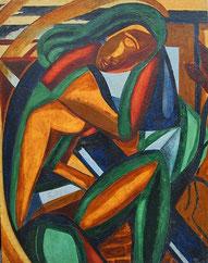 Ölgemälde,Malerei Trier, Trierer Malerei, Margrit Schweicher, Kunst, 50er Jahre