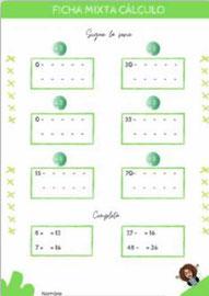 Series numéricas y completar