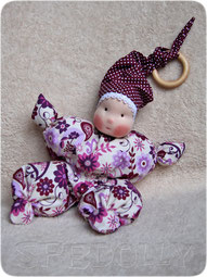 кукла бабочка в вальдорфском стиле