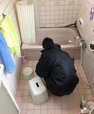 在来 タイル 浴室リフォーム