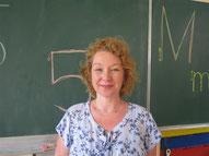 Frau Wiechers, päd. Mitarbeiterin im Ganztag